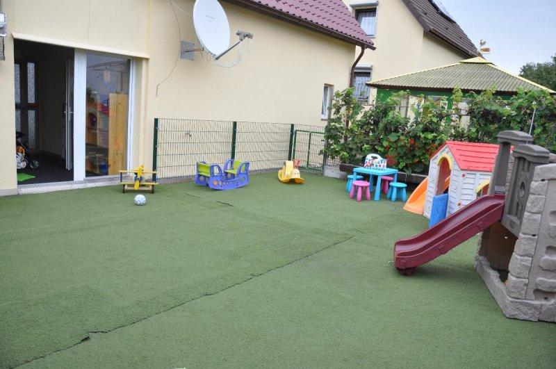 Unser Spielplatz im Innenhof